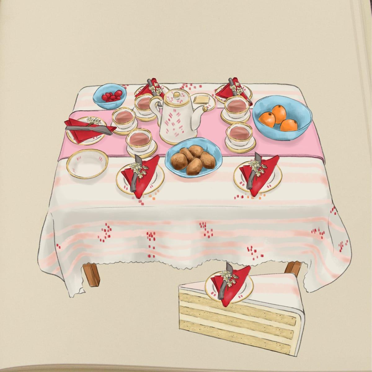"""Nanna tegner kagerne til Den Store Bagedyst: """"Vi er en hel lille kagefabrik"""" 2"""