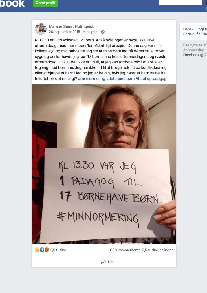 I 2005 opfandt en mor i Vanløse ordet minimumsnormeringer - nu er det på finansloven 5