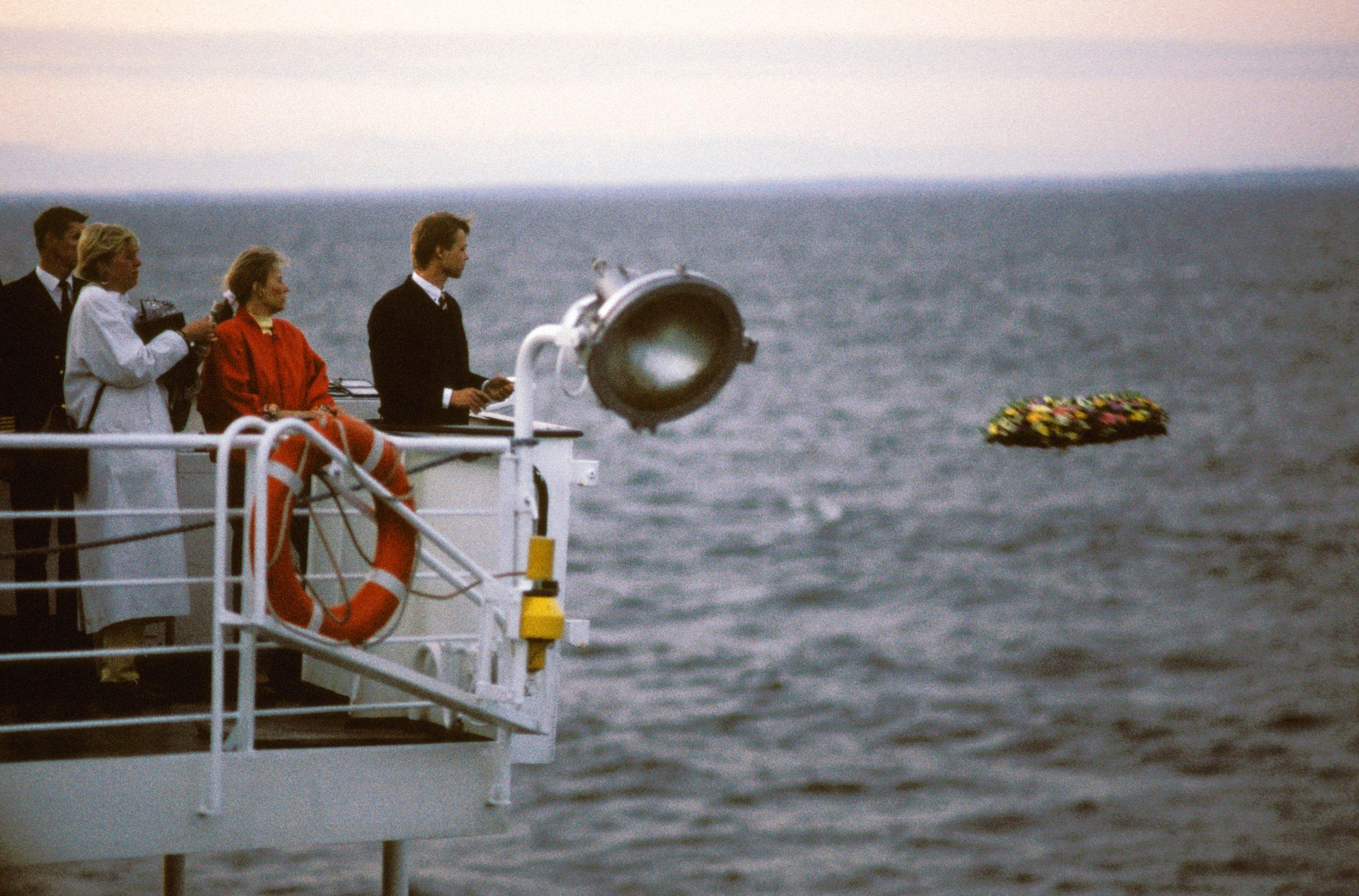 Jens var første fotograf inde på Scandinavian Star