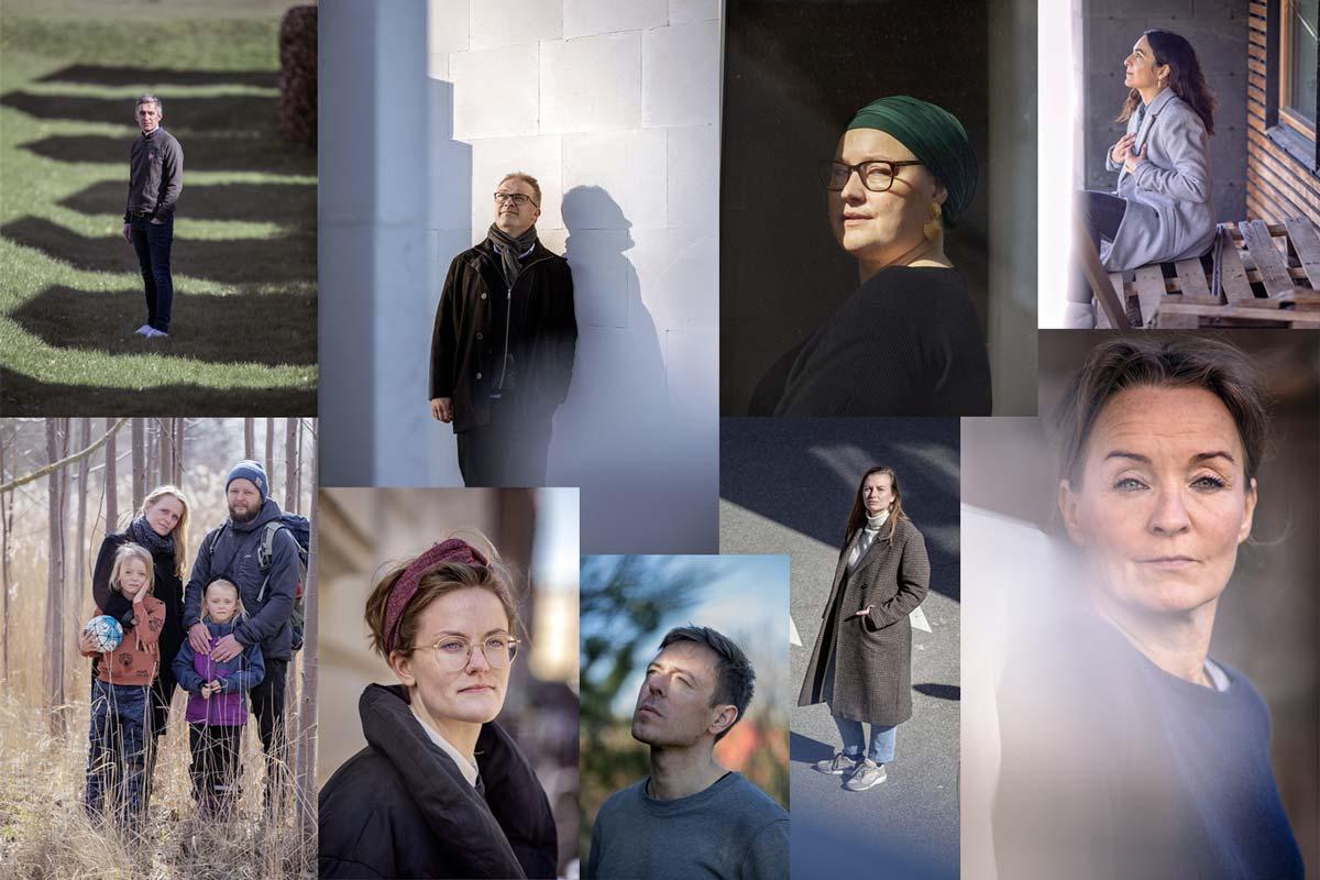 """<span class=""""rodt""""></span><span class=""""rodt"""">Kaos og nye idéer:</span> Vi sendte en fotograf med telelinse ud for at møde 13 kolleger i coronaland 11"""