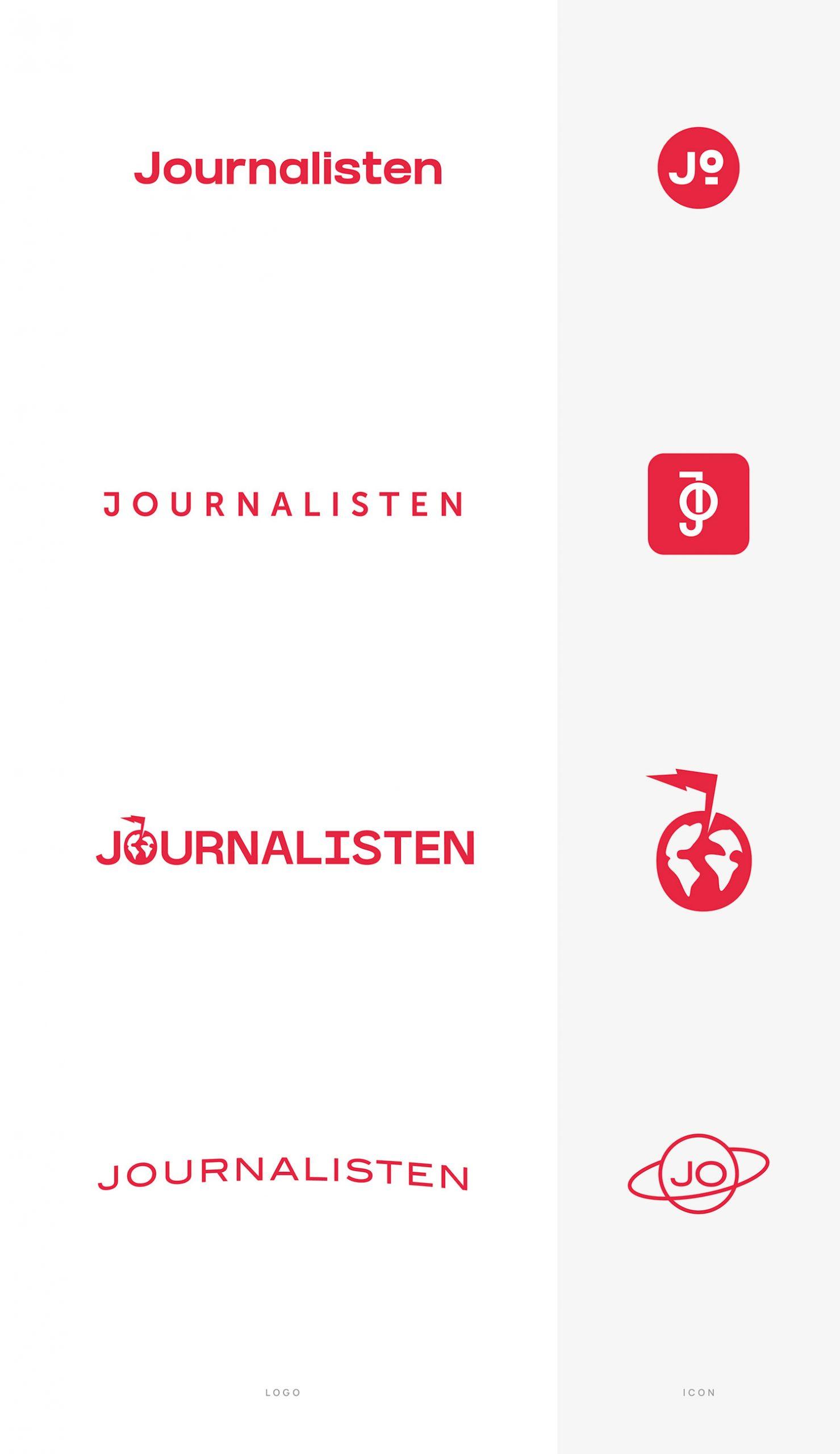 Journalistens logo redesignet på tre kontinenter – her er resultaterne 3