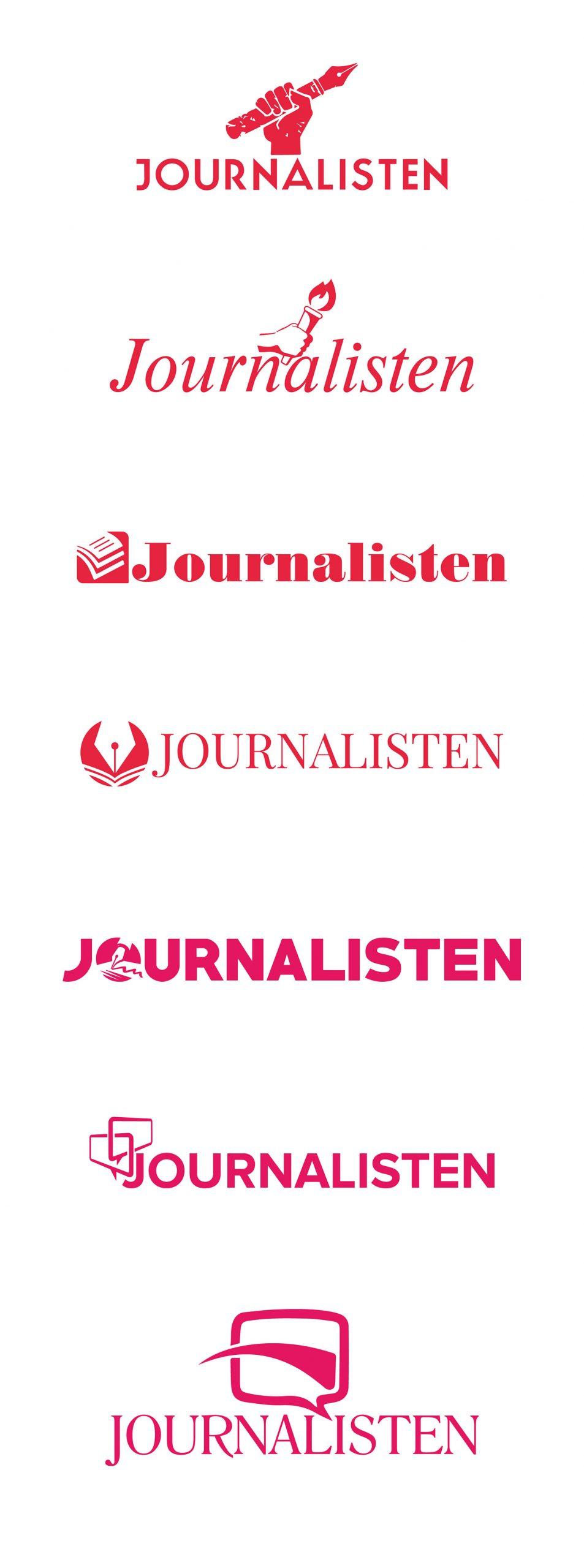 Journalistens logo redesignet på tre kontinenter – her er resultaterne 4