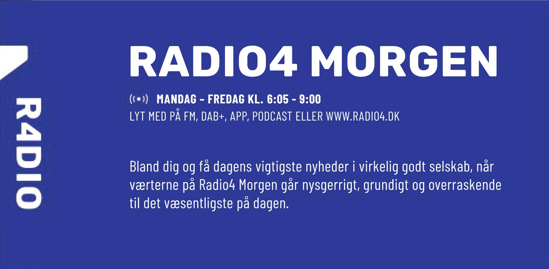 Radio4 har købt annonceplads i 20 dagblade – alle i radioens ejerkreds 2