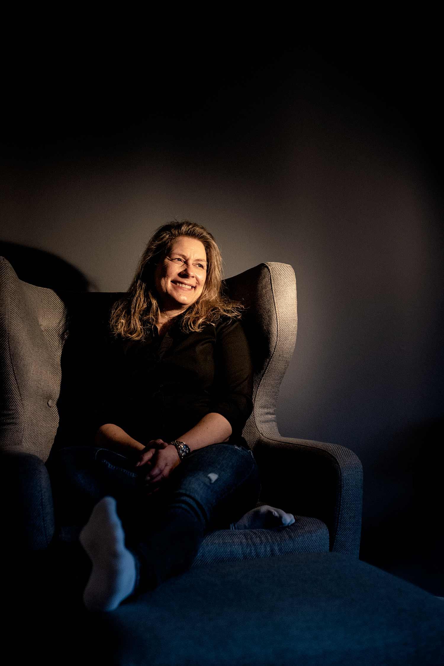 """<span class=""""rodt"""">Britt Berglund: </span>""""Jeg har stået og grædt i radioen – flere gange"""""""