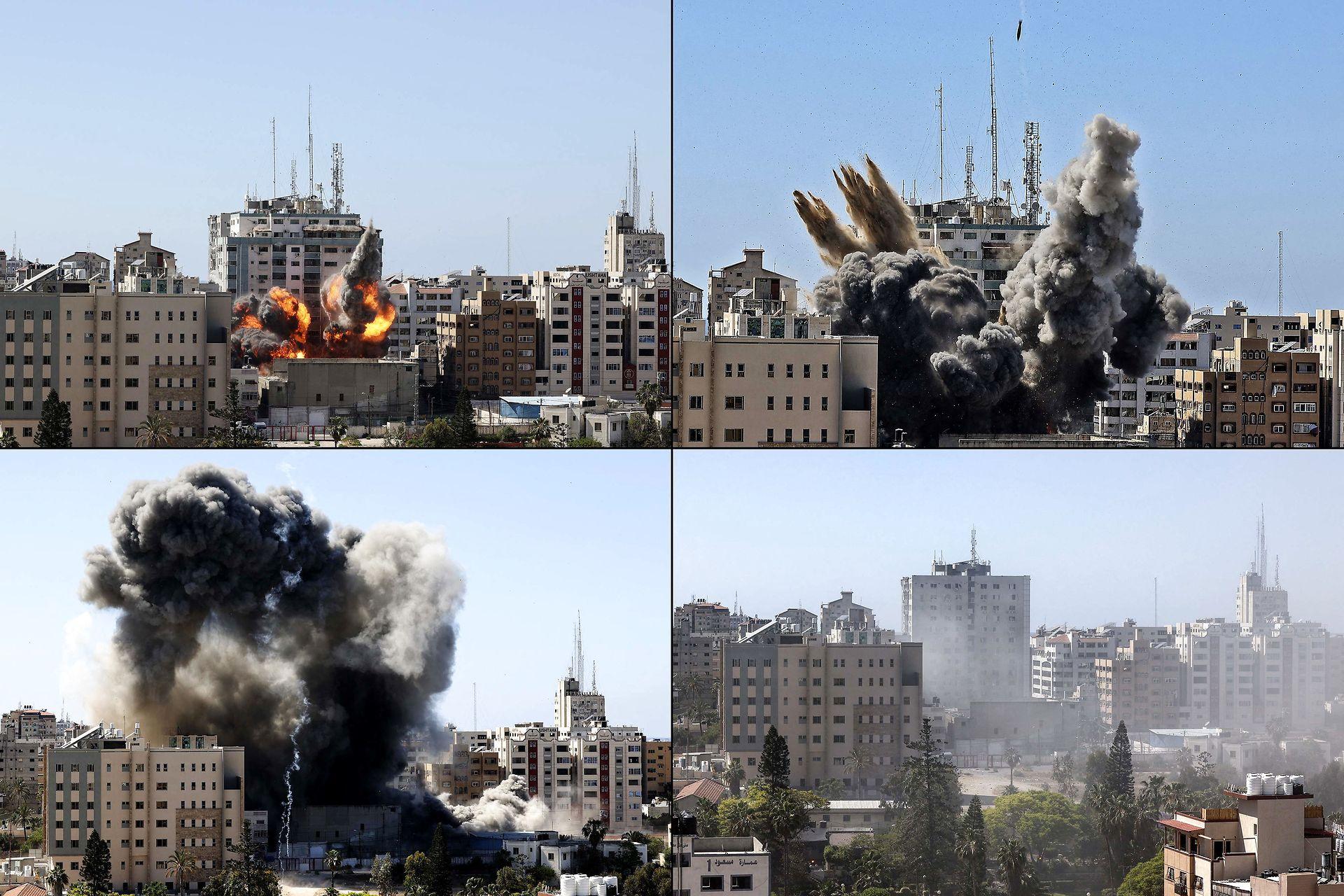 AFP i Gaza tilbyder journalister pladser efter Israels bombardement af kontorer