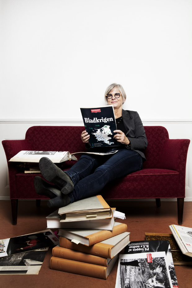 Anette Claudi, redaktør på Journalisten 1995-2001